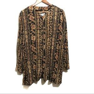 Krush of California vintage long sleeve shirt